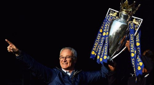 Ranieri explica los secretos del Leicester: pizza, esfuerzo y corazón