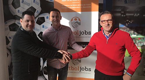 Acadef signs a collaboration agreement with FútbolJobs