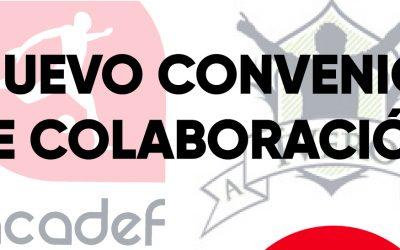 Acadef firma un convenio de colaboración con La Asociación Deportiva ÍVERO.