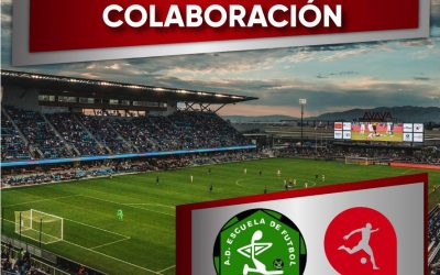 Acadef firma un convenio de colaboración con   La  Escuela de Fútbol Aluche