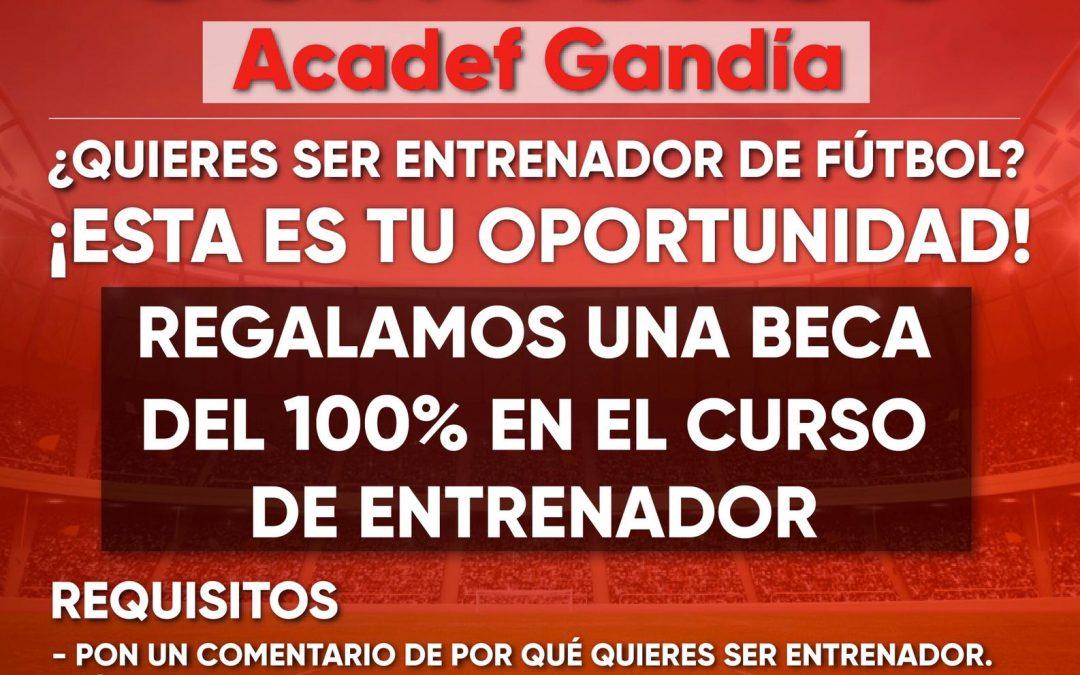Bases legales concurso Acadef Gandía