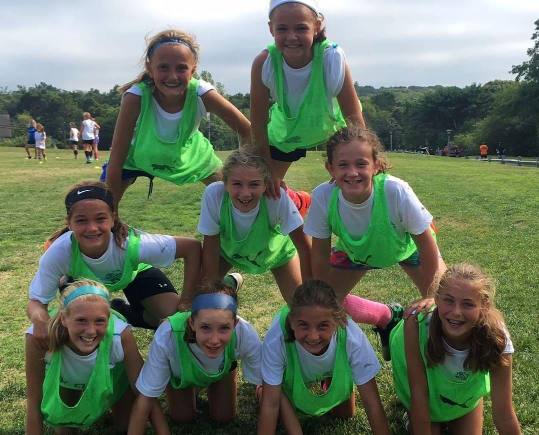 Campamentos de fútbol en verano
