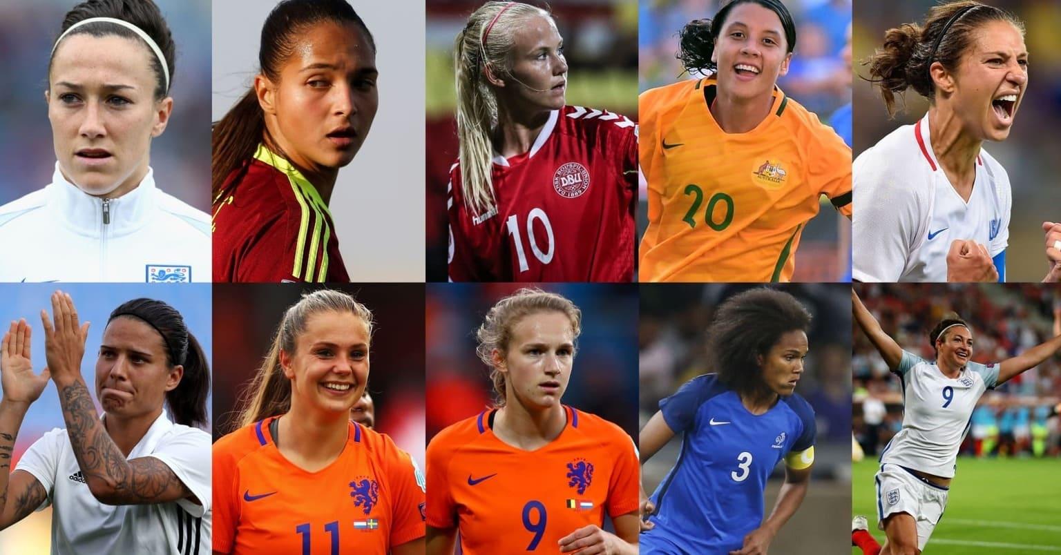 mejores jugadoras de fútbol femenino