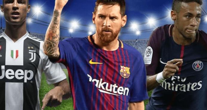 Los 10 mejores jugadores de fútbol del mundo