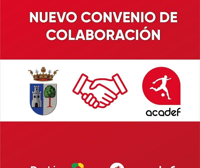 Acadef y el Ayuntamiento de Alcalá del Valle alcanzan un acuerdo de colaboración