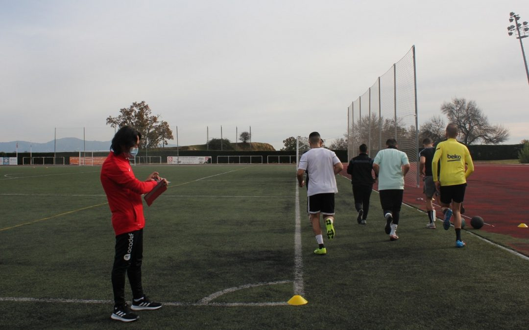 Éxito de las pruebas físicas de Acadef en Guadarrama