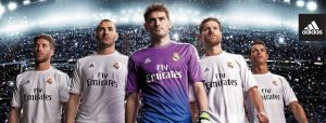 Clubes de fútbol y sus patrocinios