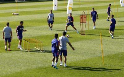 Distribuir el trabajo físico en un entrenamiento de fútbol
