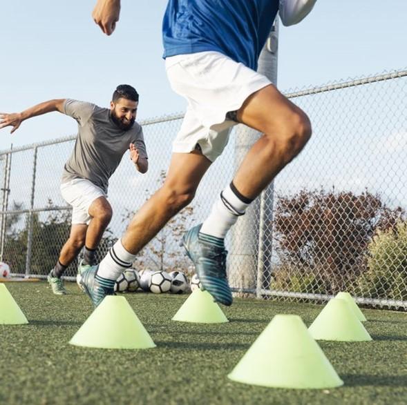 Cómo distribuir el trabajo físico en un entrenamiento de fútbol