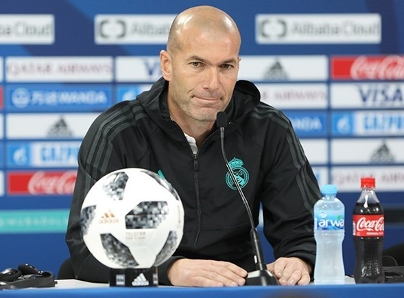 Liga española de fútbol sin Zinedine Zidane